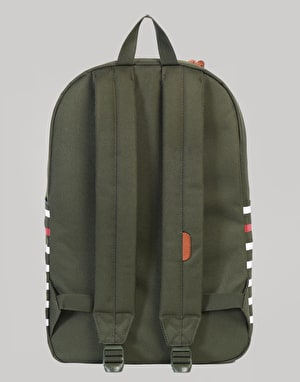 Herschel Supply Co. Heritage Backpack - Forest Night Offset Stripe