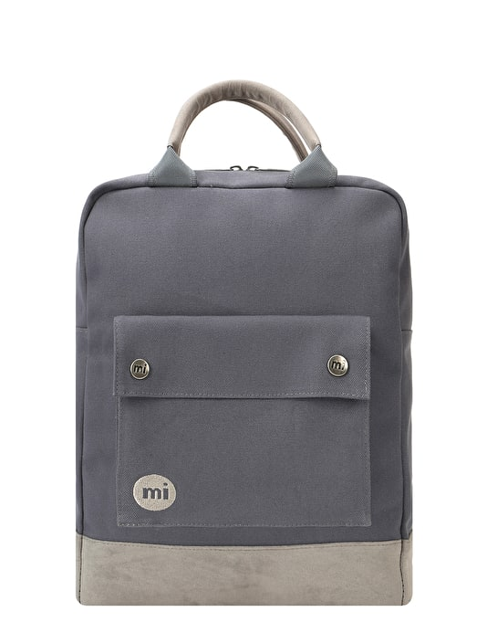 bb93a86c4943 Mi-Pac Canvas Tote Backpack - Charcoal
