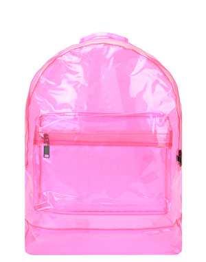 Mi-Pac Transparent Backpack - Pink