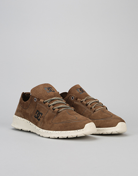 DC Lynx Lite LE Skate Shoes - Brown