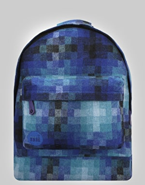 Mi-Pac Pixel Check Backpack - Blue