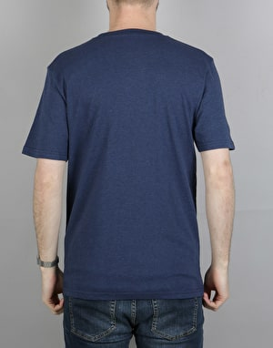 Carhartt S/S Pocket T-Shirt - Blue Heather