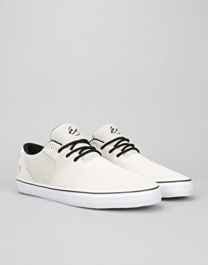 éS Accel SQ Skate Shoes - White/White/Black