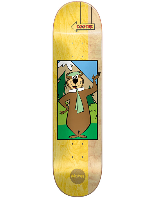 Almost x Hanna-Barbera Cooper Yogi Bear Pro Deck - 8.125""