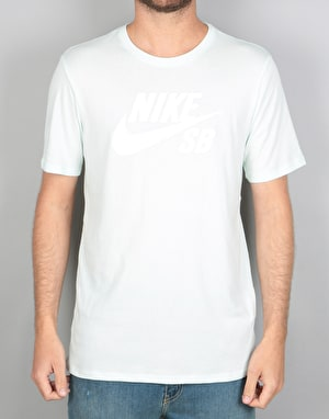 Nike SB Logo T-Shirt - Barely Green/White