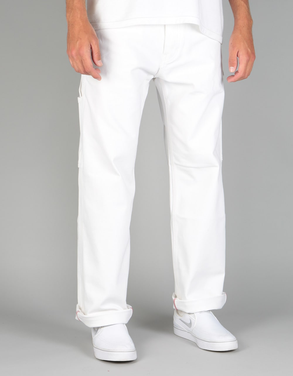 White Denim Jeans Mens