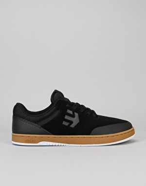 Etnies Marana Skate Shoes - Black/Gum/White