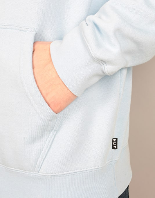 HUF x Pink Panther Overdyed Pullover Hoodie - Light Blue