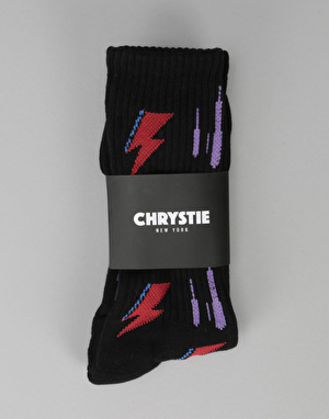Chrystie RIP Socks - Black