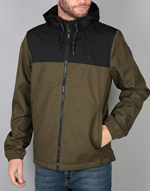 Element Alder Jacket - Black/Moss Green Heather