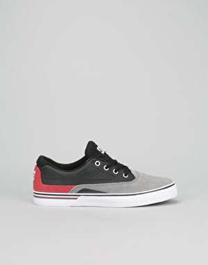 DC Sultan Boys Skate Shoes - Grey/Black/Red
