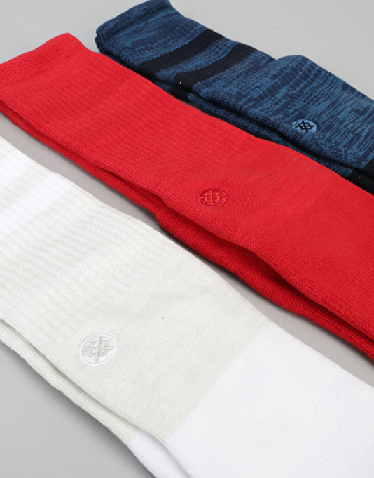 Stance Holiday Gift Box 3 Pack Socks - Solids