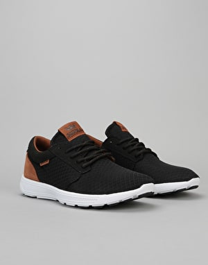 Supra Hammer Run Shoes - Black/Monk