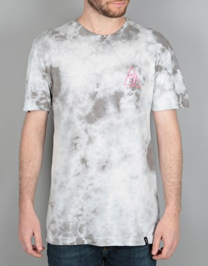 HUF x Pink Panther Triple Triangle T-Shirt - Grey Crystal Wash