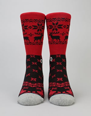 Stance Blitzn' 200 Needle Socks - Red