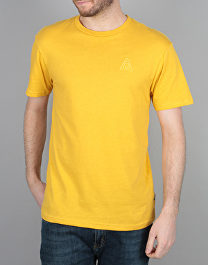 HUF Overdyed Triangle T-Shirt - Mustard