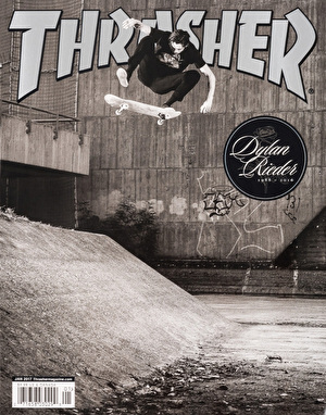 Thrasher Magazine Issue 438 January 2017 (Rieder Cover)
