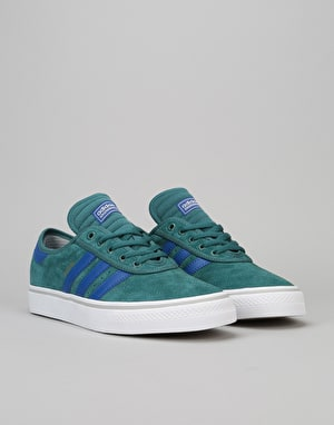 Adidas Adi-Ease Premiere ADV Skate Shoes - Tech Green/Collegiate Royal