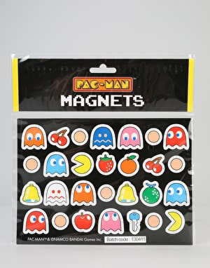 Pac-Man Magnets