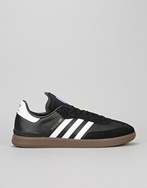 Adidas Samba ADV Skate Shoes - Core Black/White/Gum