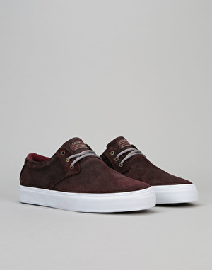 Lakai Daly AW (MJ AW) Skate Shoes - Mahogany Oiled Suede
