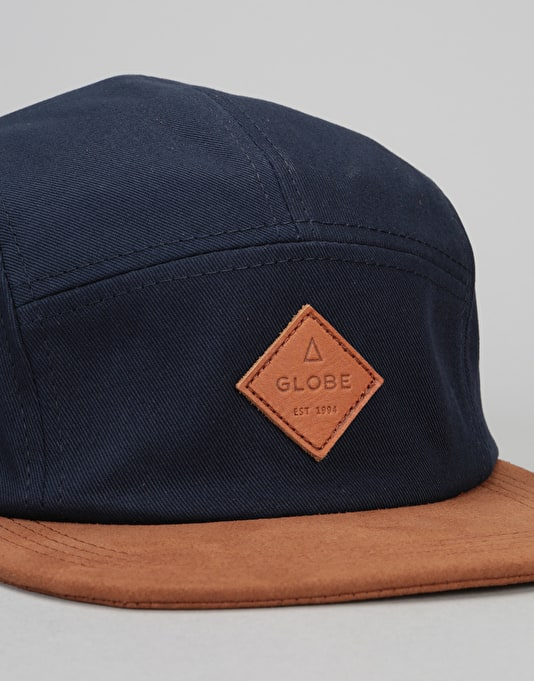 Globe Wallace 5 Panel Cap - Navy