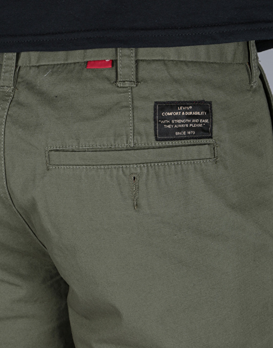 Levi's Skateboarding Work Shorts - Ivy Green Twill
