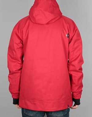 Bonfire Linton 2017 Snowboard Jacket - Flame Red