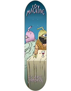 Toy Machine Carpenter Last Supper Pro Deck - 8