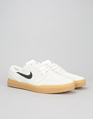 Nike SB Stefan Janoski Hyperfeel Skate Shoes - Summit White/Black-Gum