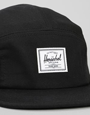 Herschel Supply Co. Glendale 5 Panel Cap - Black