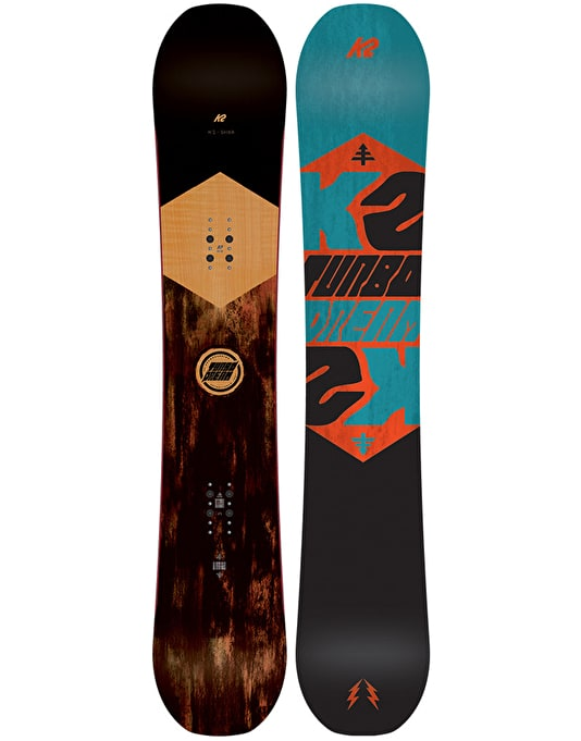 K2 Turbo Dream 2016 Snowboard - 157cm WIDE