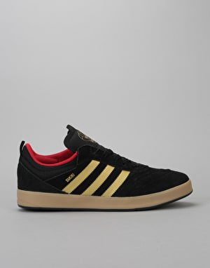 Adidas Suciu ADV Skate Shoes - Core Black/Gold Foil/Gum