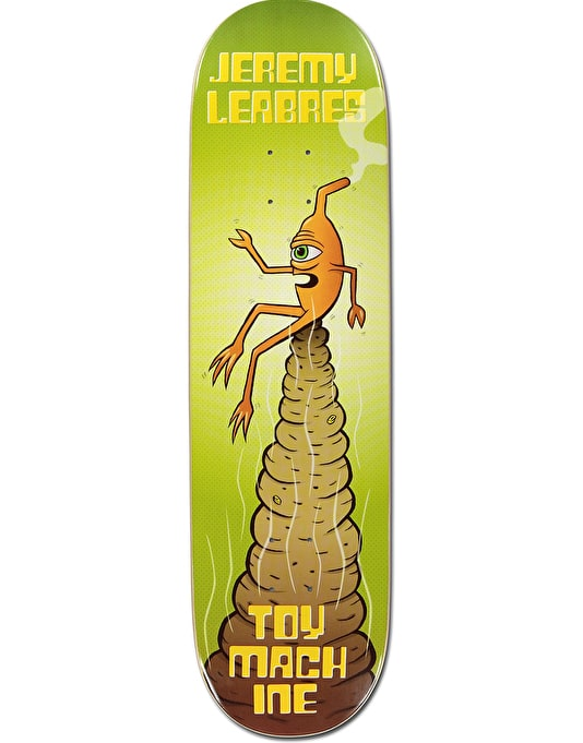 Toy Machine Leabres Pile Skateboard Deck - 8.5""