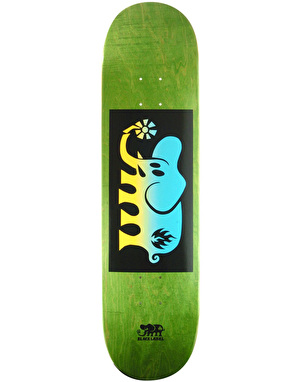 Black Label Elephant Fade Block Team Deck - 8.25