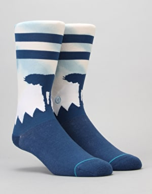 Stance x Star Wars Hoth Socks - Blue