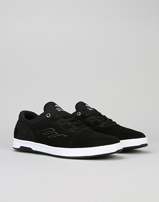 Emerica Westgate CC Skate Shoes - Black/White