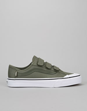 Vans Black Ball Priz Skate Shoes - Grape Leaf