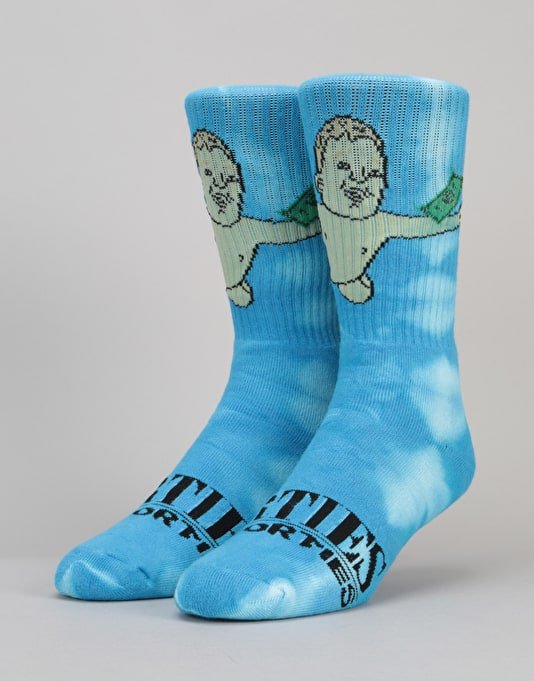 40's & Shorties Teen Spirit Socks - Blue