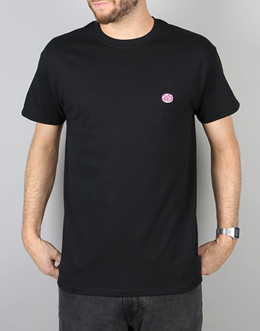 Route One Doughnut T-Shirt - Black