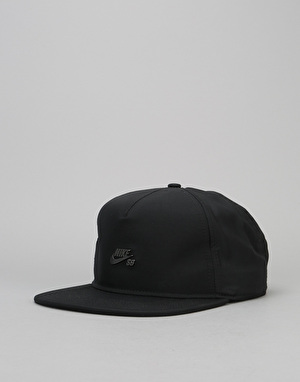 Nike SB Dri-Fit Snapback Cap - Black/Black/Black/Dark Antique Black