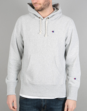 Champion Basic Reverse Weave Terry Hooded Sweatshirt - LOXG