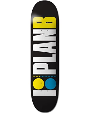 Plan B OG Neon Skateboard Deck - 7.75
