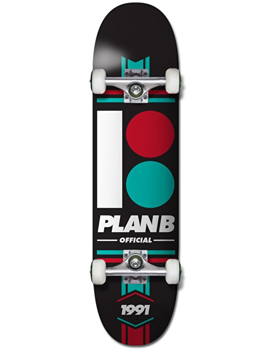Plan B Official Complete Skateboard - 8""