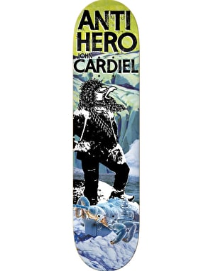 Anti Hero Cardiel Wild Unknown Pro Deck - 8.43
