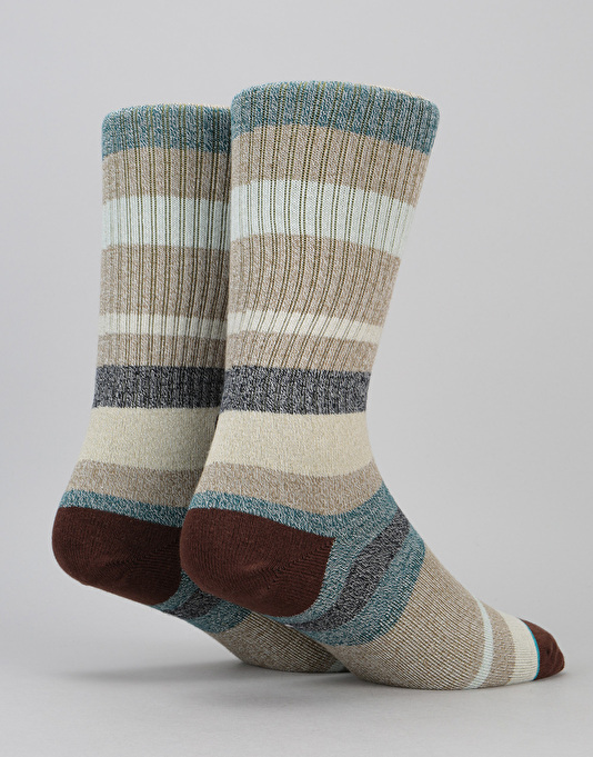 Stance Topanga Classic Crew Butter Blend Socks - Forest