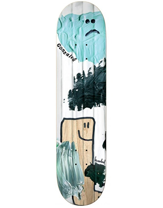 Krooked Gonz Ribbed Pro Deck - 8.38""