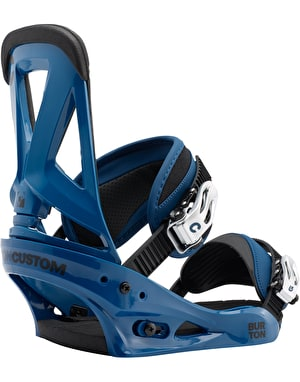 Burton Custom 2017 Snowboard Bindings - Blue
