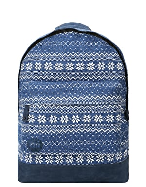 Mi-Pac Fairisle Backpack - Blue