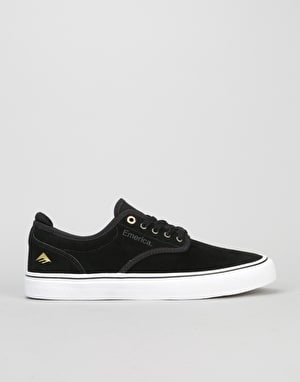 Emerica Wino G6 Low Vulc Skate Shoes - Black/White